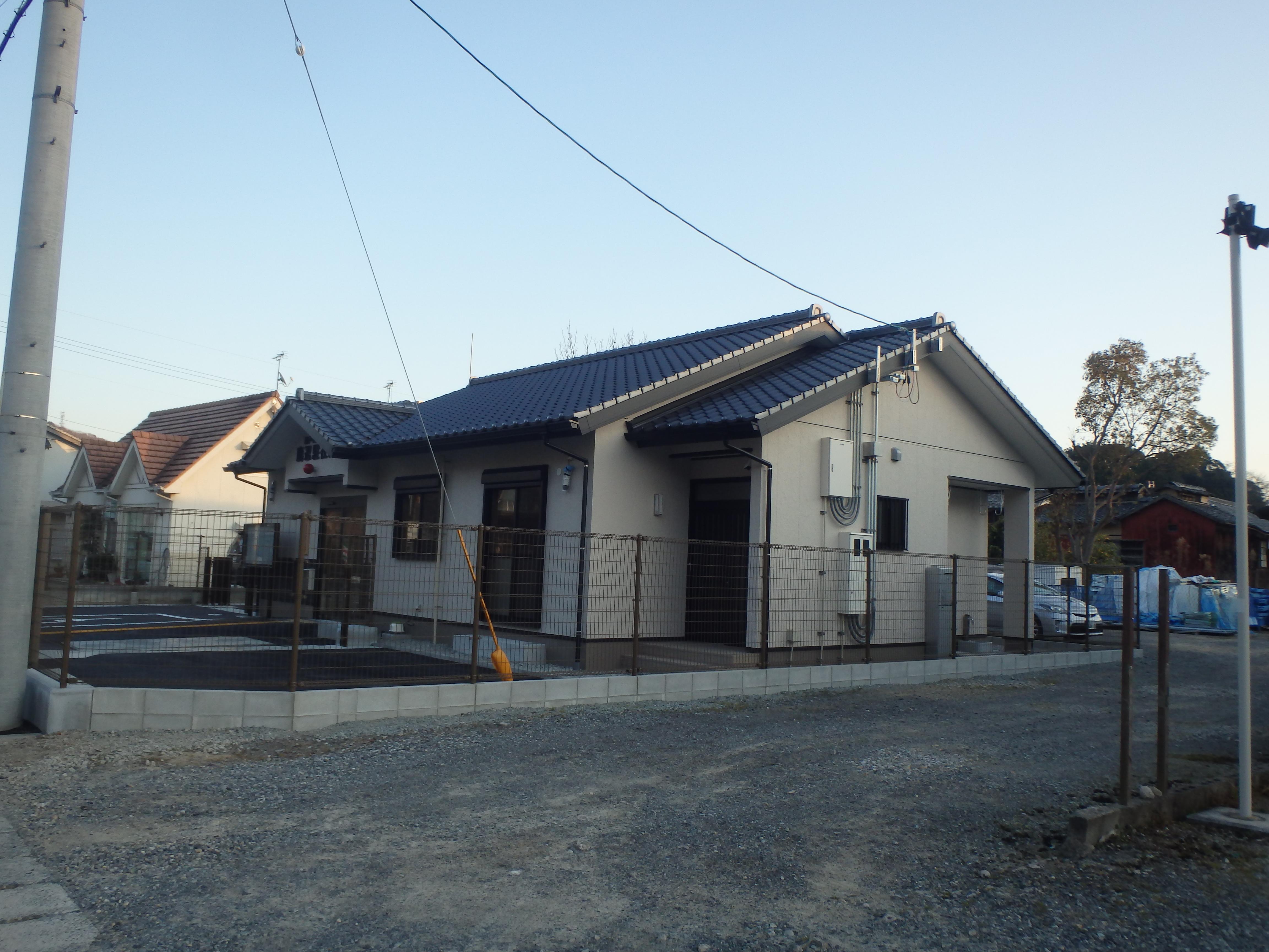 瀬戸内警察署鹿忍駐在所新築工事